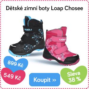 Dětské zimní boty Loap Chosee