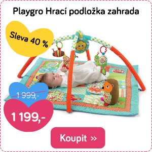 Hrací podložka Playgro zahrada