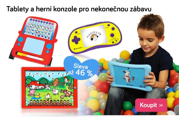 Dětské tablety a herní konzole