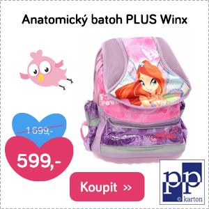 Anatomický batoh Plus Winx
