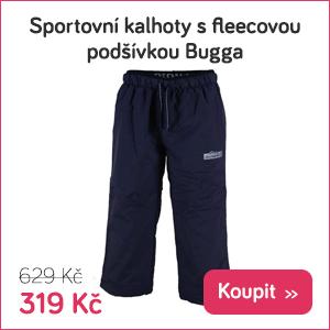 Dětské sportovní kalhoty Bugga