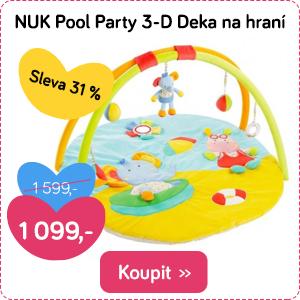 Deka na hraní NUK Pool Party