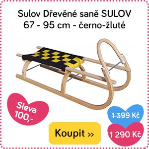 Dřevěné saně Sulov