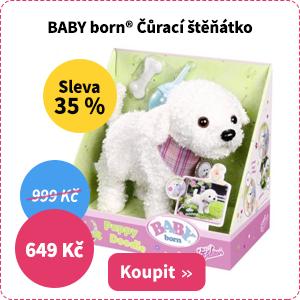 Baby born Čůrací šťěňátko