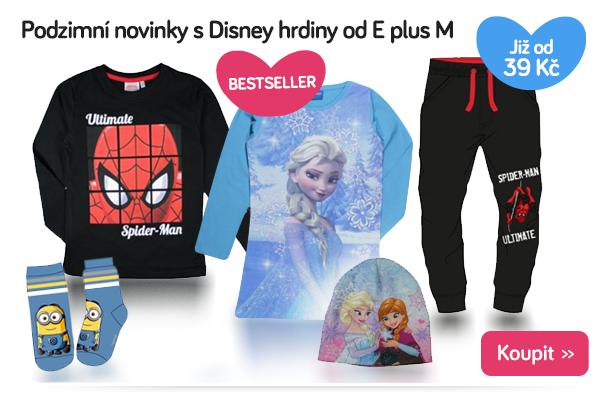 Dětské oblečení E plus M Disney