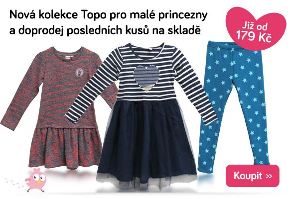 Dětské oblečení Topo