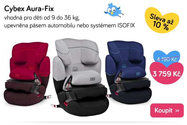 Autosedačka Cybec Aura-Fix