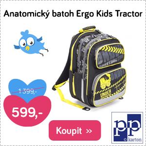 Anatomický batoh Ergo Kids Tractor
