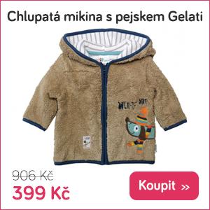 Dětská chlupatá mikina Gelati