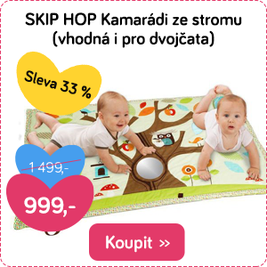Hrací deka Skip Hop pro dva