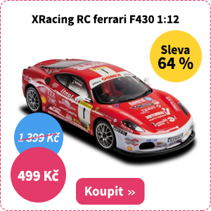 RC model XRacing ferrari F430