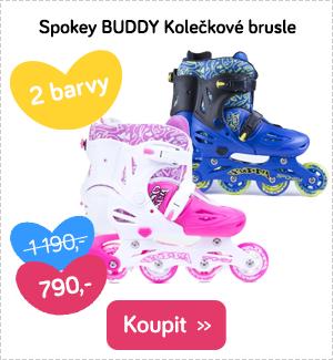 Dětské brusle Spokey Buddy