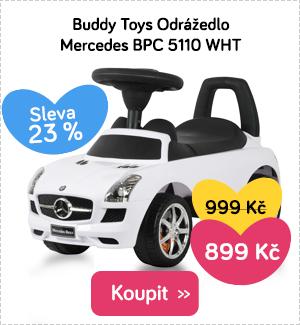 Odrážedlo Buddy Toys Mercedes BPC 5110 WHT
