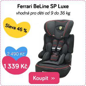 Autosedačka Ferrari BeLine Sp Luxe