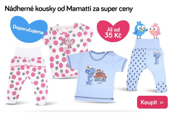 Dětské oblečení Mamatti