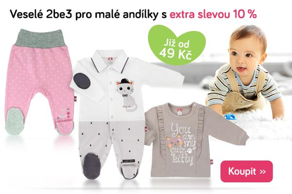 Dětské oblečení 2be3