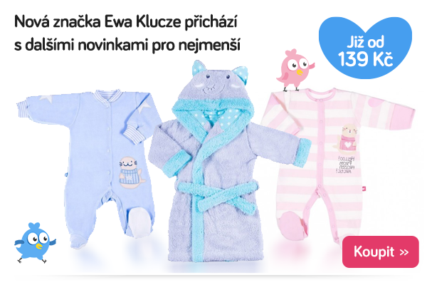 Dětské oblečení Ewa Klucze