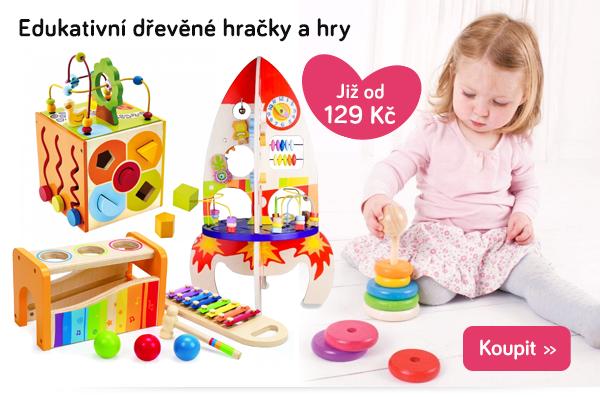 Dřevěné edukativní hračky a hry