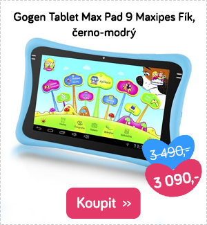Gogen tablet Max Pad 9 Maxipes Fík