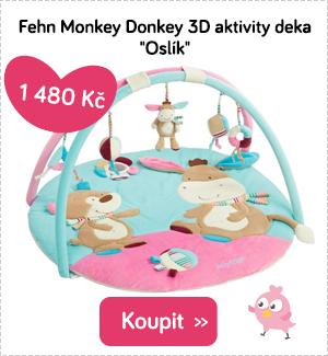 Hrací deka Fehn Monkey Donkey
