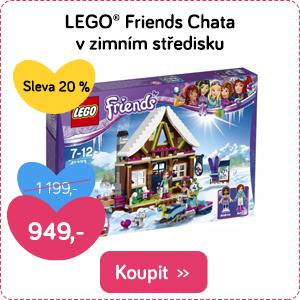 LEGO Friends Chata v zimním středisku