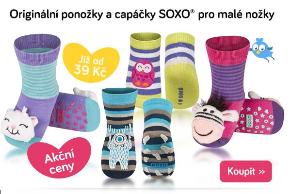 Dětské ponožky a capáčky Soxo