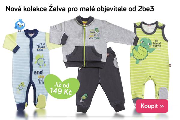 Dětské oblečení 2be3 Želva