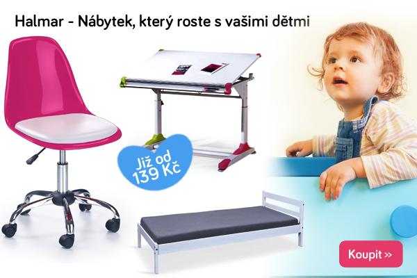 Dětský rostoucí nábytek Halmar