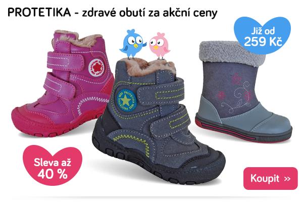 Dětské zimní boty Protetika