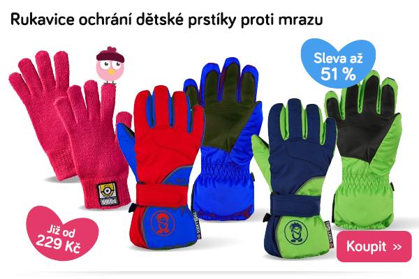 Dětské zimní rukavice