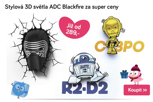 3D světla ADC Blackfire