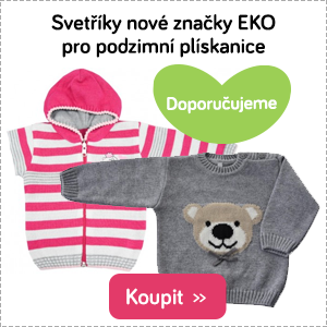 Dětské svetry EKO