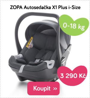 Autosedačka ZOPA X1 PLus i-Size