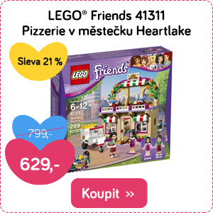 LEGO Friends Pizzerie v městečku Heartlake
