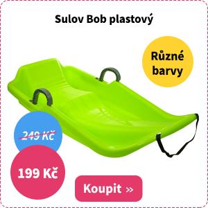 Plastový bob Sulov