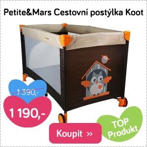 Cestovní postýlka Petite&Mars Koot