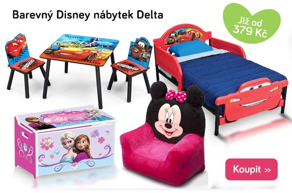 Dětský nábytek Disney Delta