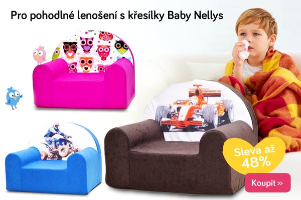 Dětská křesílka Baby Nellys