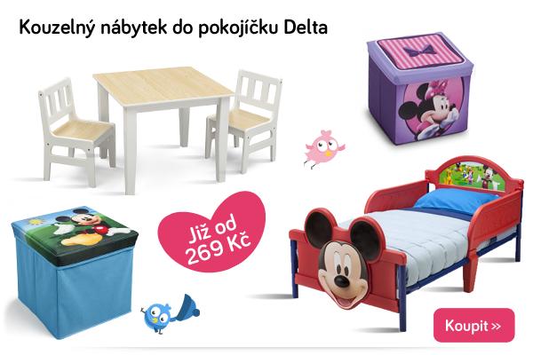 Dětský nábytek Delta