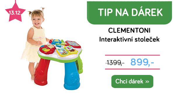 Interaktivní stoleček Clementoni