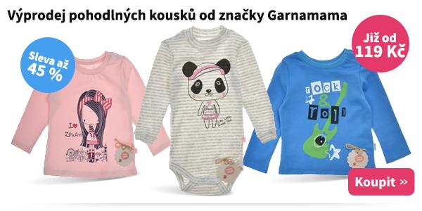 Dětské oblečení Garnamama