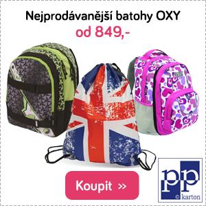 Nejprodávanější batohy Oxy