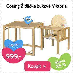 Dětská židlička Cosing Viktoria