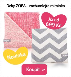 Dětské deky Zopa