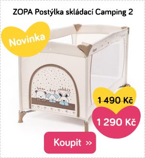 Skládací postýlka ZOPA Camping 2
