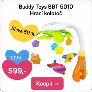 Kolotoč nad postýlku Buddy Toys