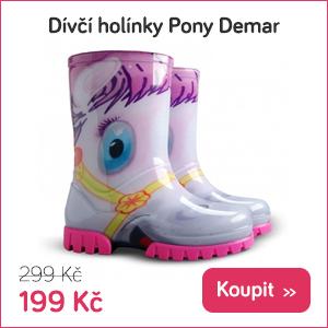 Dětské holinky Pony Demar