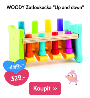 Woody zatloukačka Up and down