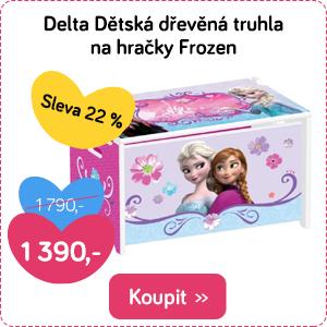 Dětská truhla Delta Frozen