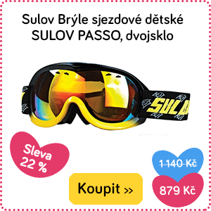 Dětské brýle na lyže Sulov Passo